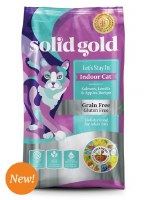 Solid Gold Indoor Cat with Salmon 3lbs