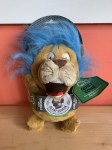 **CLEARANCE** Go Dog Large Silent Squeaker Crazy Hair Lion