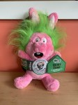 **CLEARANCE** Go Dog Large Silent Squeaker Crazy Hair Rabbit