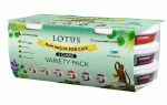 Lotus 3.5oz Variety 6 Pack (Frozen)