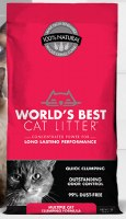 World's Best Cat Litter Multiple Cat Clumping 14lbs