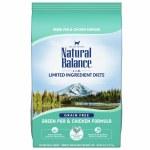 Natural Balance Limited Ingredient Diet Green Pea & Chicken 10lbs