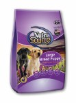 NutriSource 15 lb Large Breed Puppy Chicken & Rice