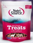 NutriSource 6oz Soft & Tender Salmon Treat
