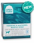 Open Farm Herring & Mackerel Stew 12.5oz Dog