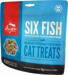 ORIJEN 1.25oz Freeze Dried Six Fish Cat Treats