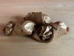 Preppy Puppy Peanut Butter Cannoli Cookie