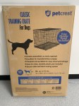 PetCrest Extra Large Wire Crate 42""