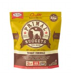 Primal 3 lb Rabbit Nuggets Dog FROZEN