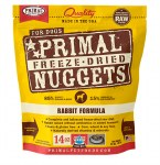 Primal 14oz Freeze Dried Rabbit Dog