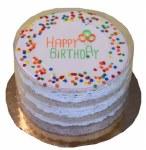 """Preppy Puppy 5"""" Soft Layered Birthday Cake"""