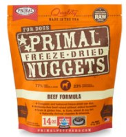 Primal Beef Nuggets (Dog) 5.5oz