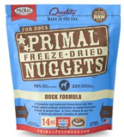 Primal Duck Nuggets (Dog) 5.5oz