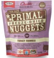 Primal Turkey Nuggets (Cat) 14oz Freeze-Dried