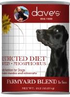 Dave's Restricted Diet Protein Phosphorus