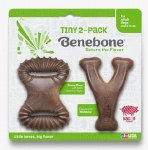 Benebone Tiny 2 Pack Bacon