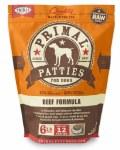 Primal Beef Patties (Dog) 6lbs FROZEN