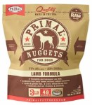 Primal Lamb Nuggets (Dog) 3lbs FROZEN