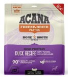 ACANA 14oz Freeze Dried Duck Patties for Dogs