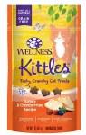 Wellness Kittles Grain-Free Turkey & Cranberries Recipe Crunchy Cat Treats, 2-oz bag
