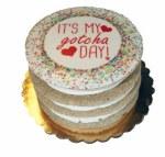 Preppy Puppy Gotcha Day Cake