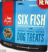 ORIJEN Freeze Dried Six Fish Treats 1.5oz