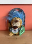 ***CLEARANCE** Go Dog Small Silent Squeaker Crazy Hair Lion