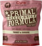 Primal 14oz Freeze Dried Turkey and Sardine Nuggets