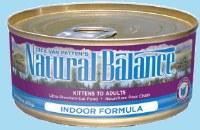 Natural Balance Indoor Chicken & Liver 5.5oz