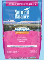 Natural Balance Ultra Chicken Meal & Salmon 15lbs