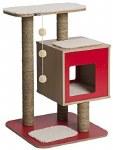 Vesper V-Base Red Cat Tower