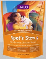 Halo Spots Stew Wholesome Indoor Chicken 3lbs