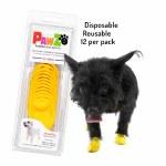 Pawz XXS Boots - Yellow
