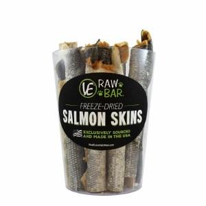 Vital Essentials Freeze Dried Salmon Skins