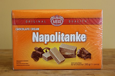 Napolitanke Choco Wafer 330g