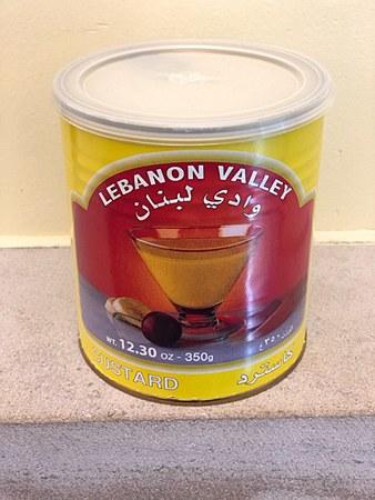 Lebanon Valley Vanilla Custard 350 gram