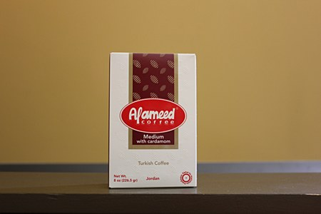 Al Ameed Coffee Medium with Cardamom 8oz