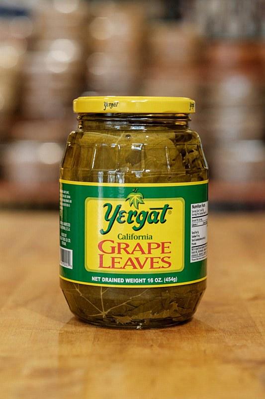 Yergat Grape Leaves Jar 16oz Pitaland Inc