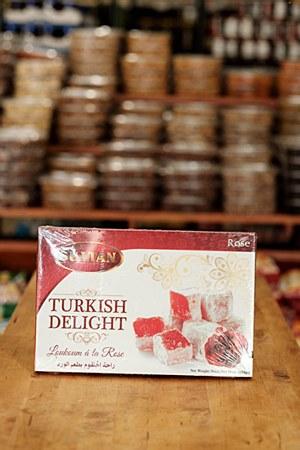 Sultan Turkisj Delight Rose 454g