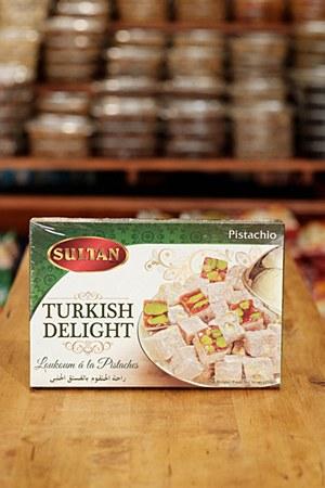 Sultan Turkish Delight Pistachio 454g