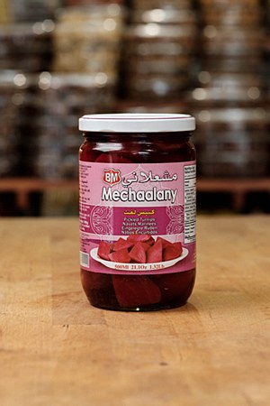 Mechaalany Pickled Turnips 21.1oz