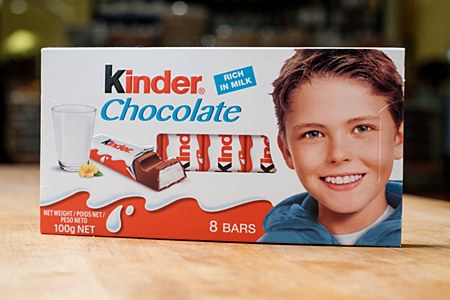 Kinder Double Chocolate 100g