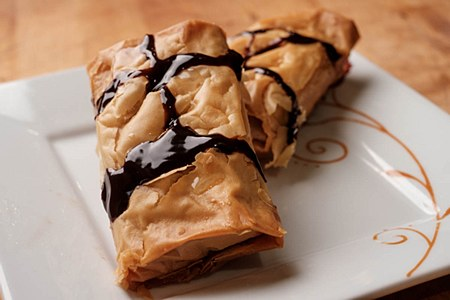 Almond and Chocolate Roll