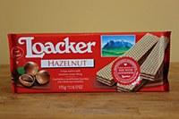 Loacker Hazelnut Wafers 175g