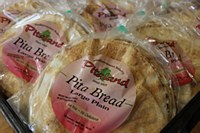 Pita Bread Large Plain 10 Pack 10""