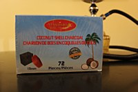 Starlight Coconut Charcoal 72 Pack