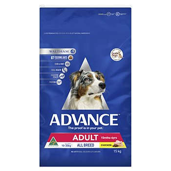 Advance Adult All Breed Chicken 15kg Dry Dog Food
