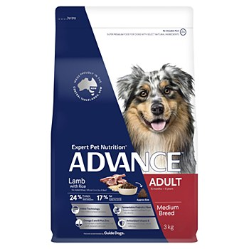 Advance Adult All Breed Lamb 3kg Dry Dog Food
