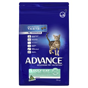 Advance Adult Cat Chicken 3kg Dry Cat Food
