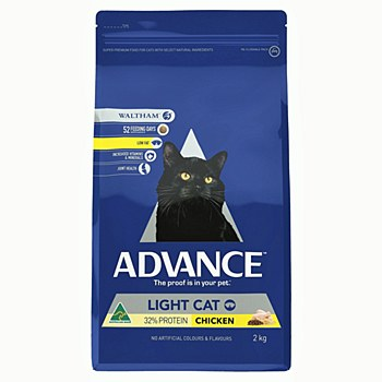Advance Adult Cat Light 2kg Dry Cat Food